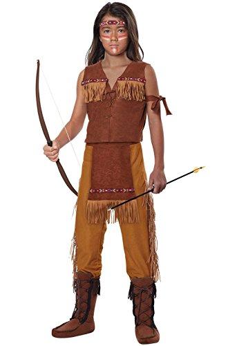 [Mememall Fashion Classic Indian Boy Native American Child Costume] (Classic Jason Costume)
