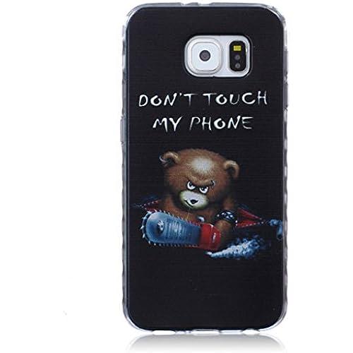 For Samsung Galaxy S7 Case / 5.1 SM-G930F, ANGELLA-M Soft Flexible - Fashion Cartoon Ultra-thin Silicone TPU Sales