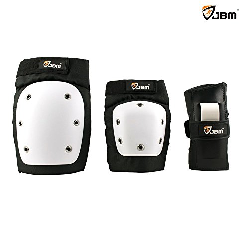 JBM Adult / Child Extra Large Cap Protective Gear Street Elbow Pads Knee Pads for Street / Park Skate, Skateboard
