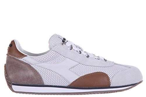 Diadora Heritage zapatos zapatillas de deporte mujer en piel nuevo heritage blan