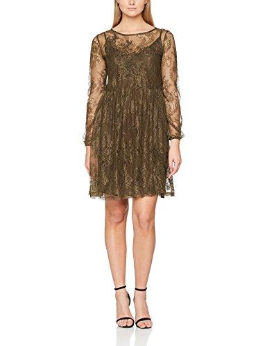Gestuz 90316 Verde Vestido wren Mujer Para Xqr4xXwg