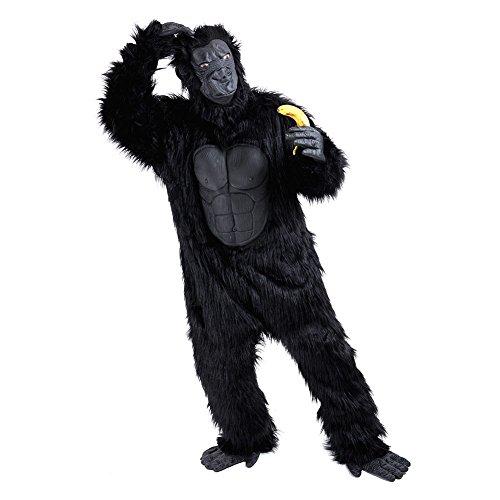 Charm Rainbow Men's Gorilla Costume Deluxe Suit (Plus Size)