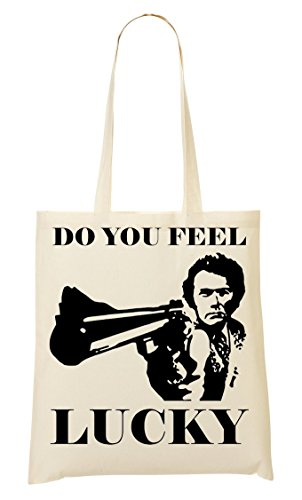 CP Do You Feel Lucky Graphic Artwork Sac Fourre-Tout Sac À Provisions