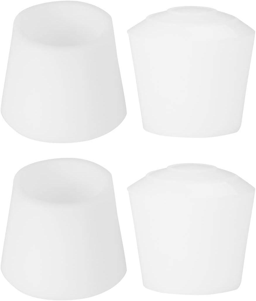 Sourcingmap color negro fieltro Protector de patas para silla de mesa