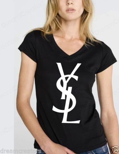 ysl-black-novelty-womans-black-vneck-high-fashion-shirt