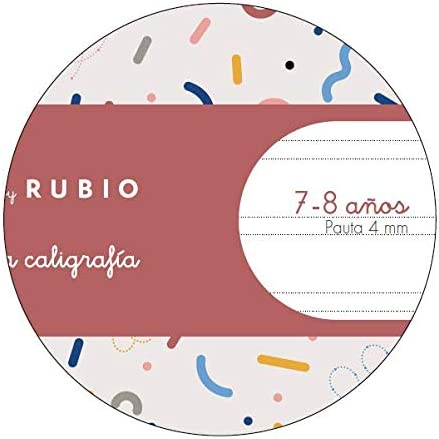 Miquelrius cuaderno con grapa By Rubio A4 Pauta Doble 4 mm 50 hojas: Amazon.es: Oficina y papelería