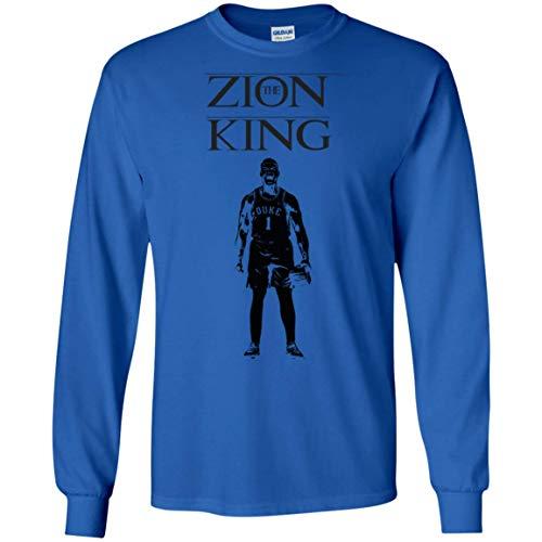 Zion Williamson Long Sleeve Shirt, Duke Blue Devils Zion T Shirt for Men and Women, The Zion ()