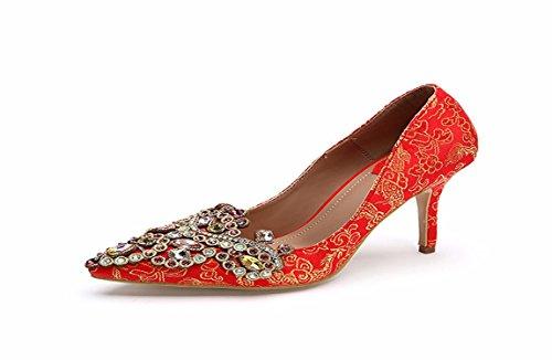 Mujer Pretty KPHY al de Zapatos Diamond Se BOSwnqR1Sx