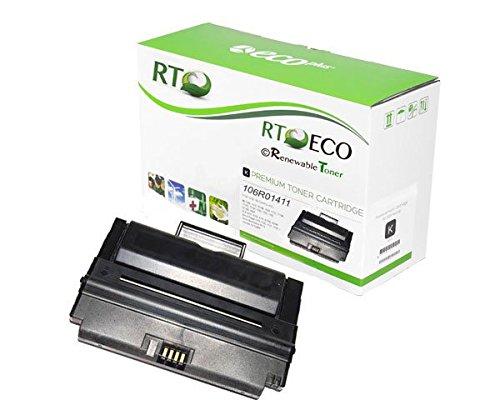 Renewable Toner Xerox Phaser 3300 MFP Black Toner Cartridge 106R01411 4K Yield