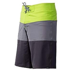 NRS Benny Board Short - Men's Grey / Green 32