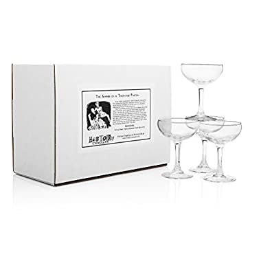 City of Paris  1924 Champagne Coupe (Gift Box Set of 4)