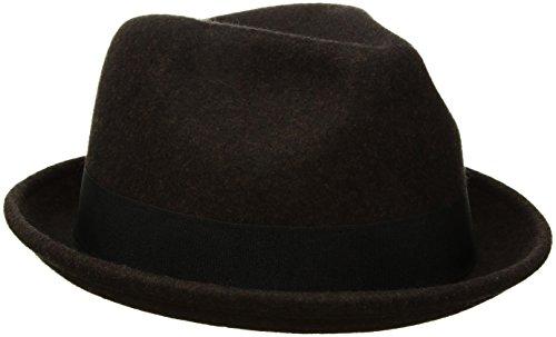 Goorin Bros. Men's Good Boy Wool Flip Up Fedora Hat, Coffee, ()