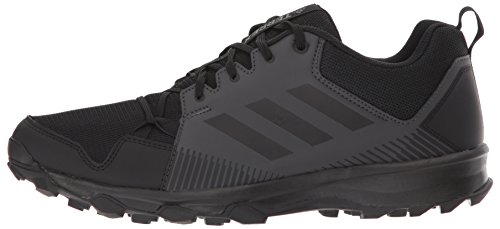 online store bdc3a 02de9 adidas outdoor Men s Terrex Tracerocker Trail Running Shoe, Black Black Utility  Black,