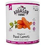 Augason Farms Dehydrated Diced Carrots,net weight 2 lbs 6 ounce.