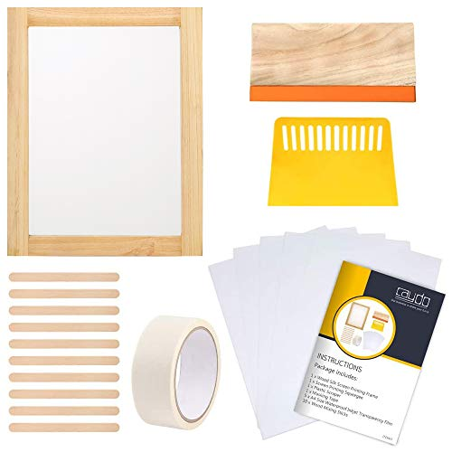Caydo 20 Pieces Screen Printing Starter kit Include