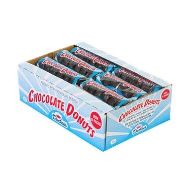 Duchess Sugar - Duchess Sugar Donuts 16 Packages - 3 oz. Each (Chocolate)