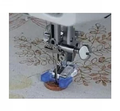 HONEYSEW Snap On Button Sew On Presser Foot For Brother Singer Janome Sewing Machine Part 5011-5