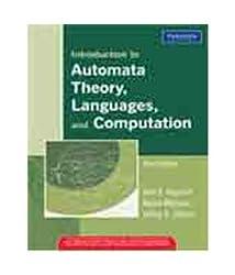 Introduction to Automata Theory, Languages, and Computation, 3/e