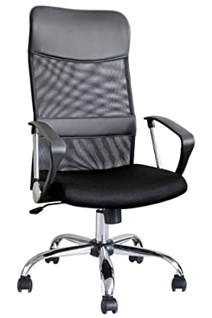 Brand New Modern Black Ergonomic Mesh Fabric Office Desk Computer - Computer chair uk