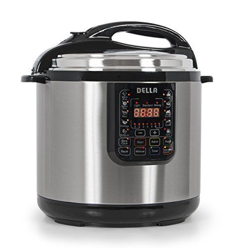 048 GM 48261 Electric Pressure Cooker Stainless