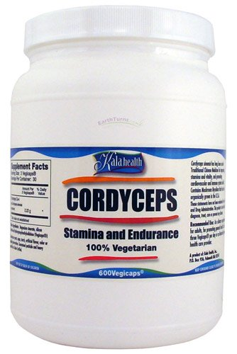 Kala Health   For Humans   Cordyceps   600 Veggie Capsules