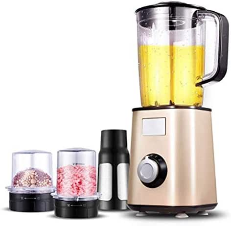 XSWZAQ-zzj Multi-function cooking machine home small automatic fruit and vegetable complementary food milkshake minced meat (Color : Gold)