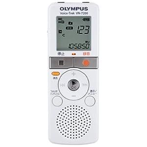 『OLYMPUS ICレコーダー VN‐7200 ホワイト 2GB VN‐7200』