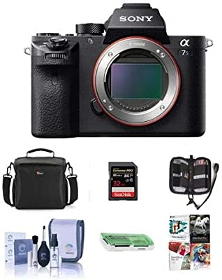 Amazon.com: Sony Alpha a7S II Mirrorless cámara digital 4 K ...