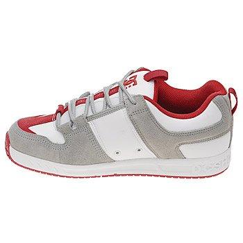 DC Shoes DC SHOES Lynx 2 Cement White - Zapatillas de piel de cerdo para hombre Cement White