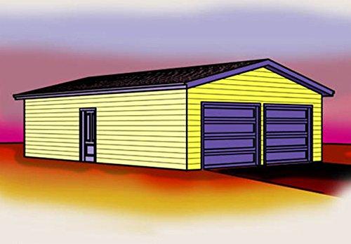 24x36 garage plans - 1