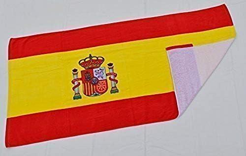 Spain Toalla de Baño Playa Piscina Bandera ESPAÑA 140 X 70 CM ...