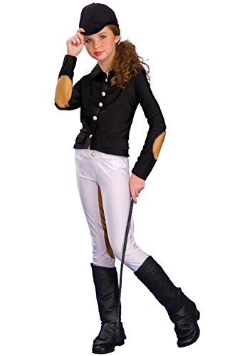 Equestrienne Horse Pony Junior Jockey Child Costume (Child Equestrienne Costume)
