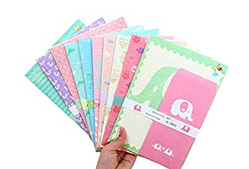 SCStyle 30 Cute Kawaii Cat Design Writing Stationery Paper With 15 Envelope  By SCStyle  Design Paper For Writing