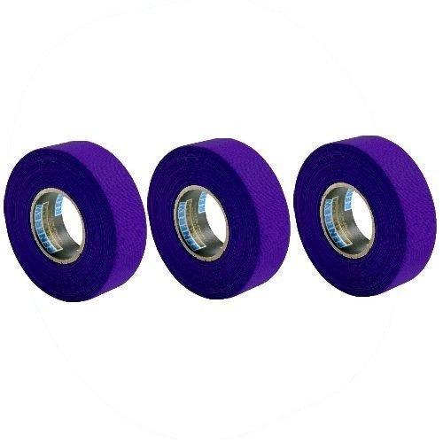 Purple Hockey Tape - New Renfrew 3 Pack Purple Hockey Stick Blade Shaft Bat TAPE Rolls 24mmx25m