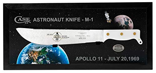 Item No 22019 WR Case and Sons Cutlery Co CASE Astronaut Knife M-1 Commemorative - White Synthetic
