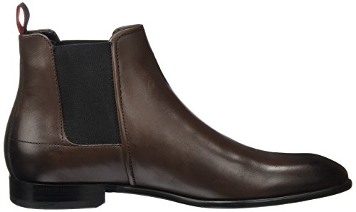 BOSS GREEN Dressapp_cheb_bu 10199046 01, Stivali Chelsea Uomo Marrone (Dark Brown)