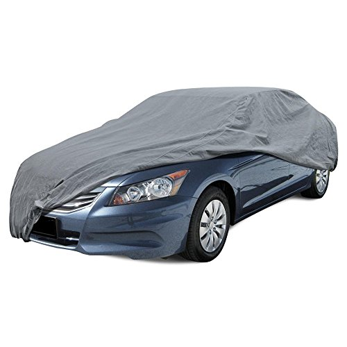 BDK Max Shield Car Cover for Honda Accord - UV Proof, Water Repellent, Paint Safe, Breathable
