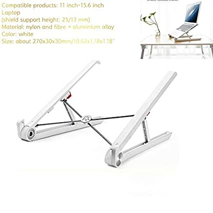 Notebook PC Table Vented Bed Tray Portable Adjustable Foldable Laptop Stand Desk