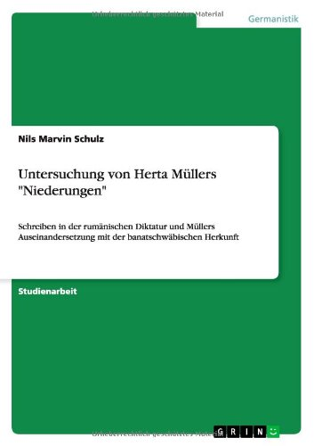 Untersuchung von Herta Müllers