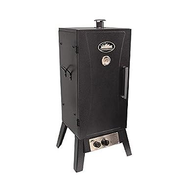 Smokehouse 9933-000-SILV Standard Gas Outdoor Smoker - Silver