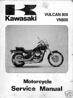 1995 kawasaki vulcan 800 vn800 service manual manufacturer rh amazon com kawasaki vulcan 800 service manual pdf free 2004 kawasaki vulcan 800 owners manual