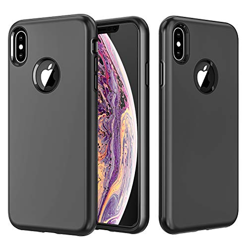 Case for iPhone Xs Max, Matone [Heavy Duty Protection] [Dual Layer] Shock Absorption Slim Hybrid Protective Case with Soft TPU Cover & Durable Hard PC Shell for Apple iPhone Xs Max (2018)