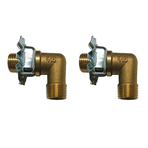 EquipmentBlvd 2 Sets of Wall Mount Faucet 1/2