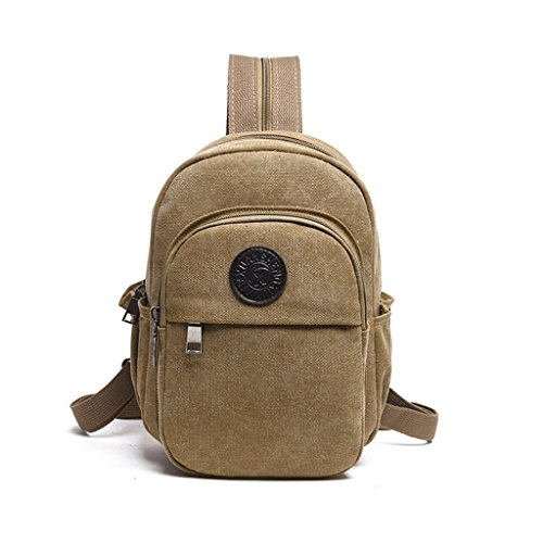 Chest Canvas Bag Men's Shoulder Bag Messenger Bag Korean Version Of Casual Out