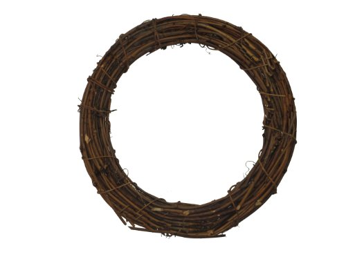 Grapevine Swag - Shine Company 6603 Grapevine Wreath, 19-Inch, Brown, 2 Pack