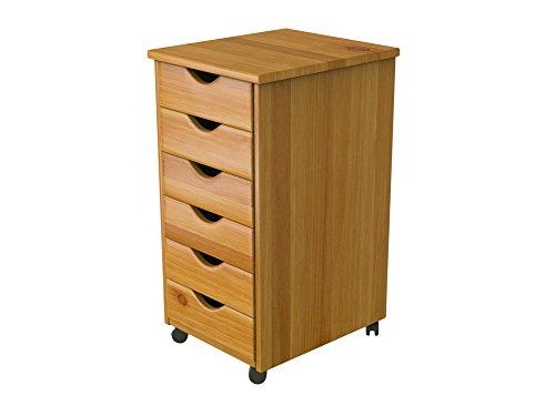 6 drawer storage cart - 7