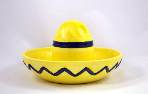 Sombrero Chip Dip Bowl Import It All