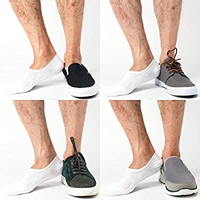 Pro Mountain Unisex No Show Flat Cushion Athletic Cotton Sneakers Sports Socks