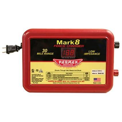 Amazon.com : Parmak MARK8 Low Impedance 110/120-Volt 30-Mile Range ...