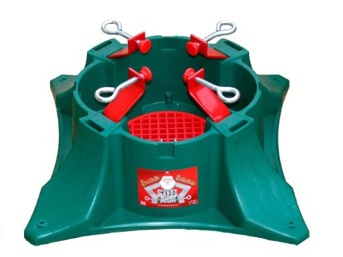Santa's Solution Steel Arm Tree Stand for 3-Feet to 9 -Feet Trees by Santa's Solution (Image #1)